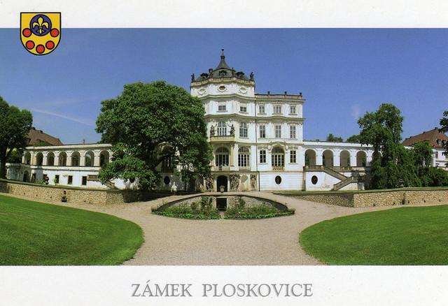Плосковице (Ploskovice) - замок 78298