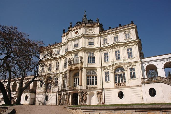 Плосковице (Ploskovice) - замок 31897
