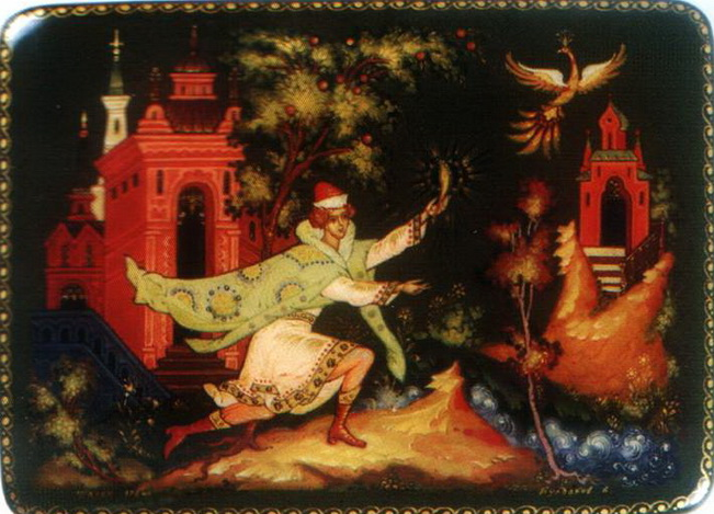 палехская лаковая живопись: