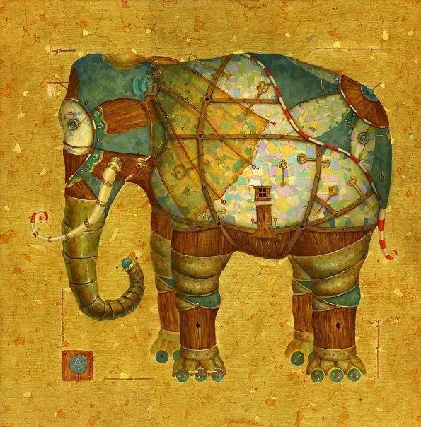 Картины художника Алексея Ежова