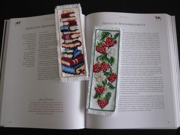 вышивка .закладки для книг.
