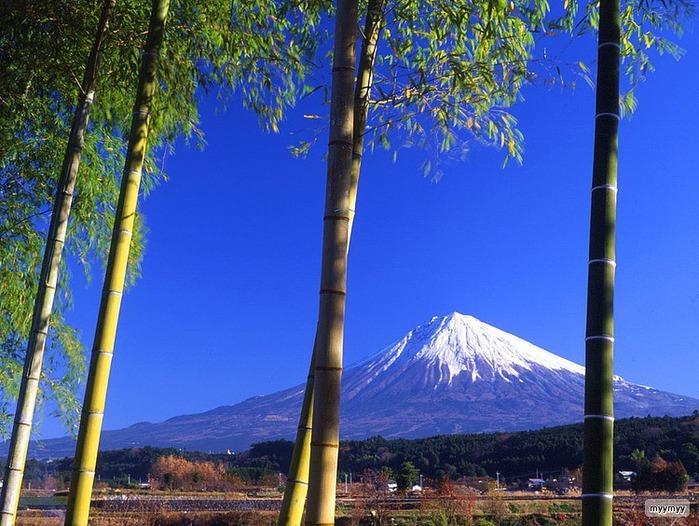 Величественный символ Японии - гора Фудзи 13