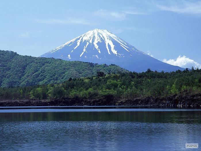 Величественный символ Японии - гора Фудзи 31