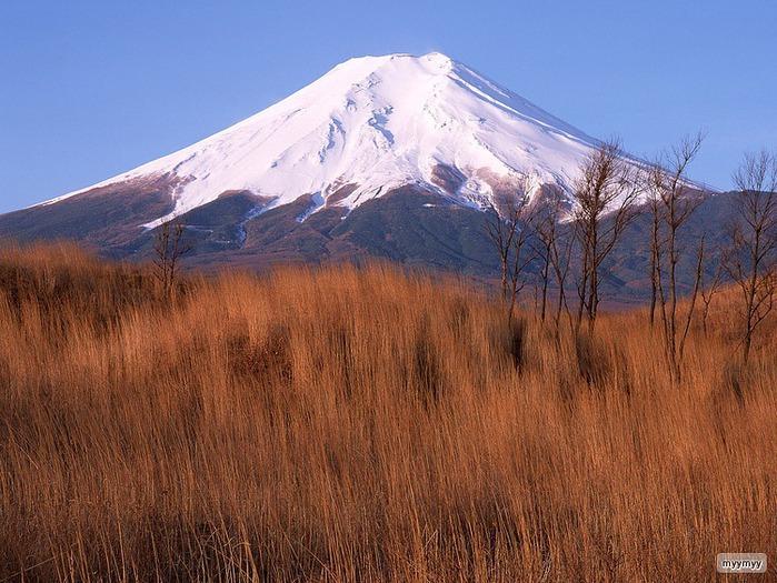 Величественный символ Японии - гора Фудзи 41