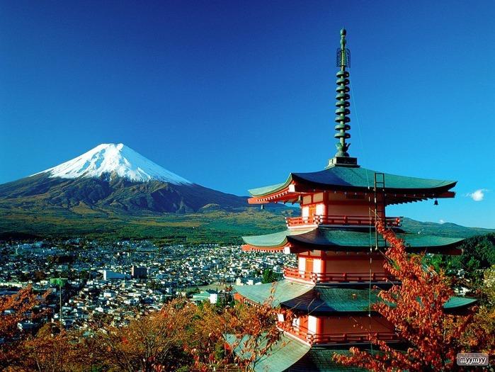 Величественный символ Японии - гора Фудзи 52