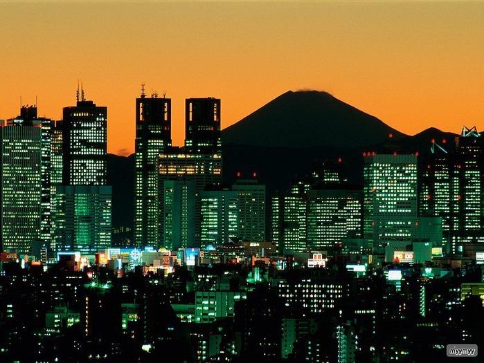 Величественный символ Японии - гора Фудзи 61