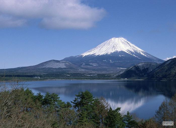 Величественный символ Японии - гора Фудзи 65