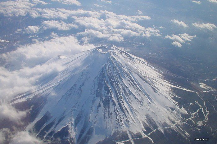 Величественный символ Японии - гора Фудзи 6