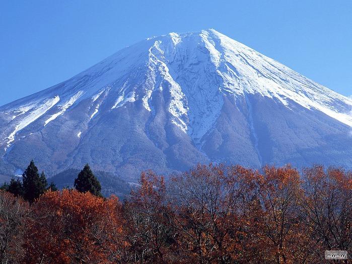 Величественный символ Японии - гора Фудзи 24