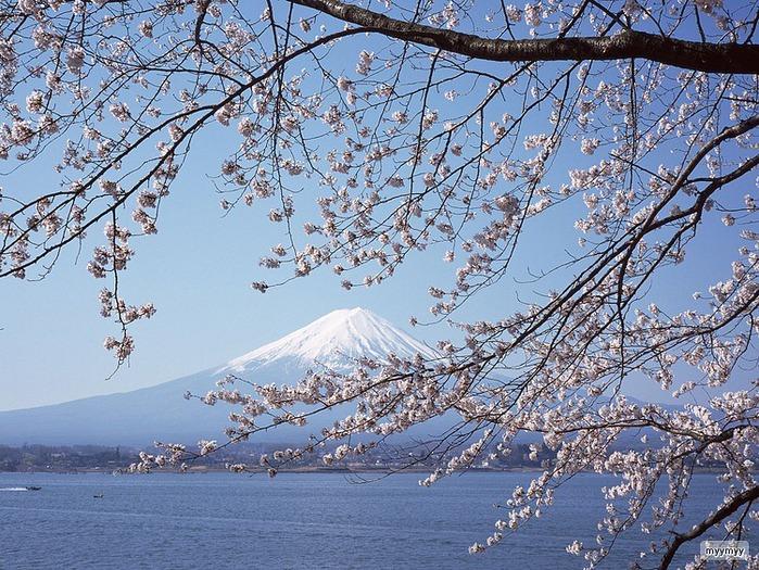 Величественный символ Японии - гора Фудзи 30