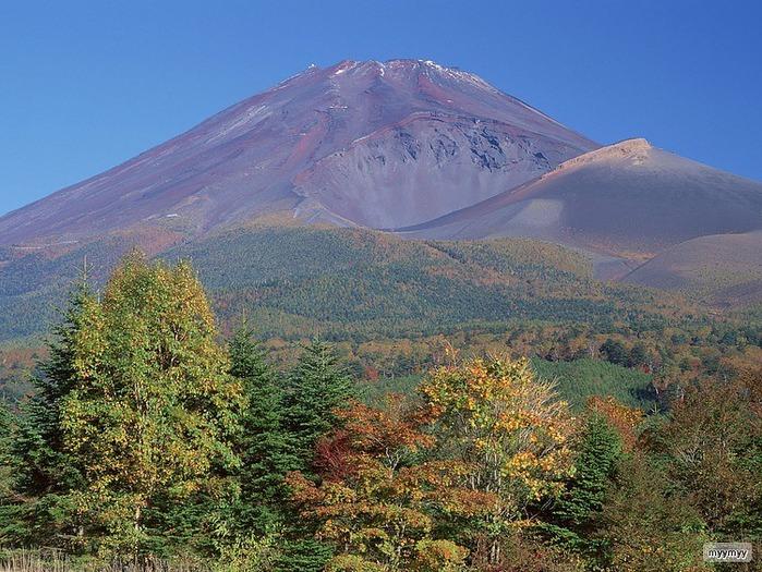 Величественный символ Японии - гора Фудзи 36