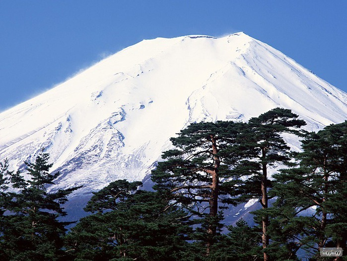 Величественный символ Японии - гора Фудзи 42