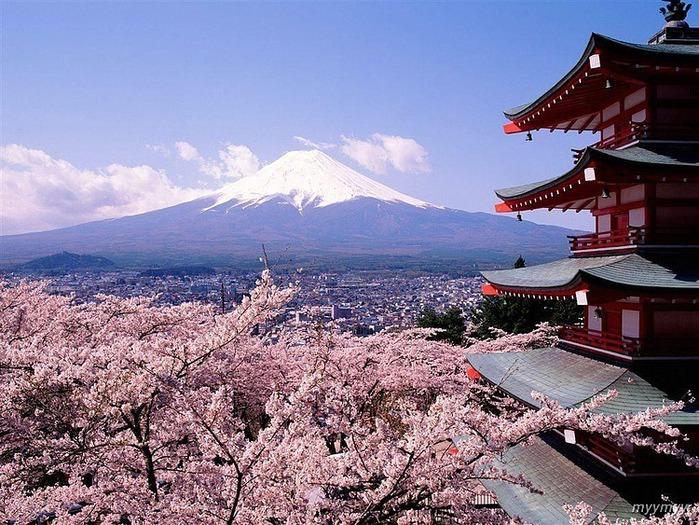 Величественный символ Японии - гора Фудзи 57