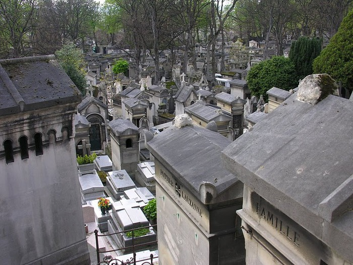 Кладбище Пер-Лашез 70559