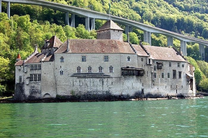 Шильонский замок (Швейцария) 75601