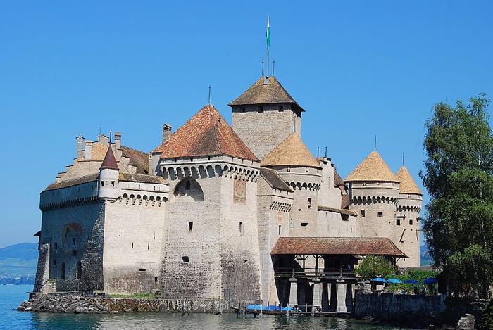 Шильонский замок (Швейцария) 55809
