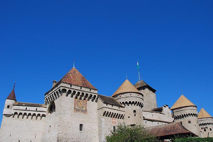 Шильонский замок (Швейцария) 20793