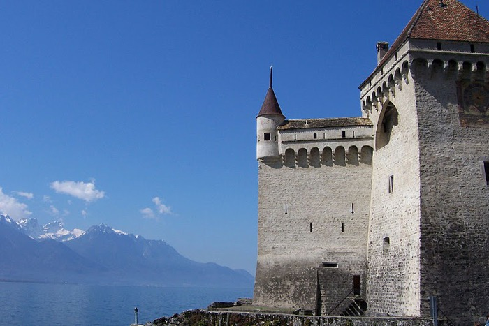 Шильонский замок (Швейцария) 39745