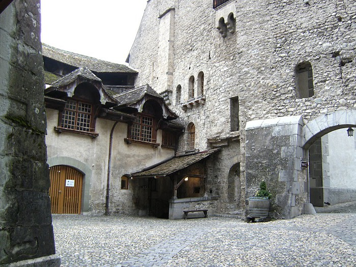 Шильонский замок (Швейцария) 72372