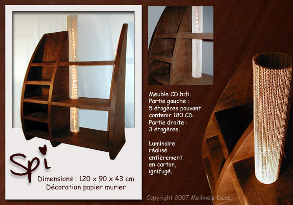 Мебель из картона-2 VIA: