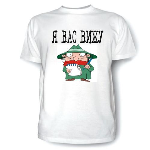 футболка с рисунком из мульта