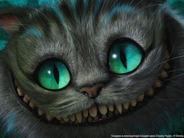 """Чеширский кот с """"Алисы в"""