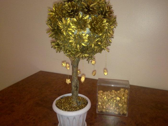 اصنعي شجرة للزينة شجرة الذهب افكار رائعة لتزيين