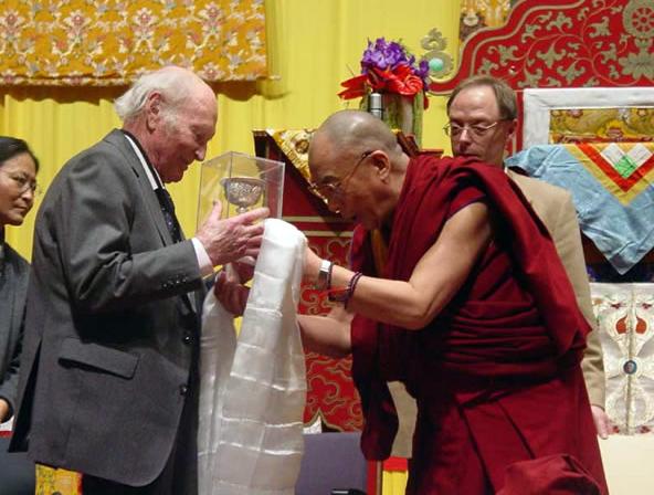Генрих Харрер и Далай Лама
