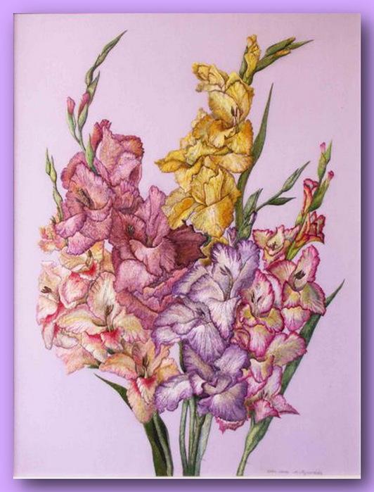 66913511 332527 El Emeği Çiçek Nakışları En Güzel Nakış Modelleri