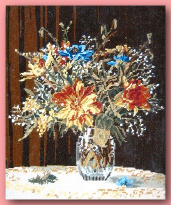 66913782 440949 El Emeği Çiçek Nakışları En Güzel Nakış Modelleri