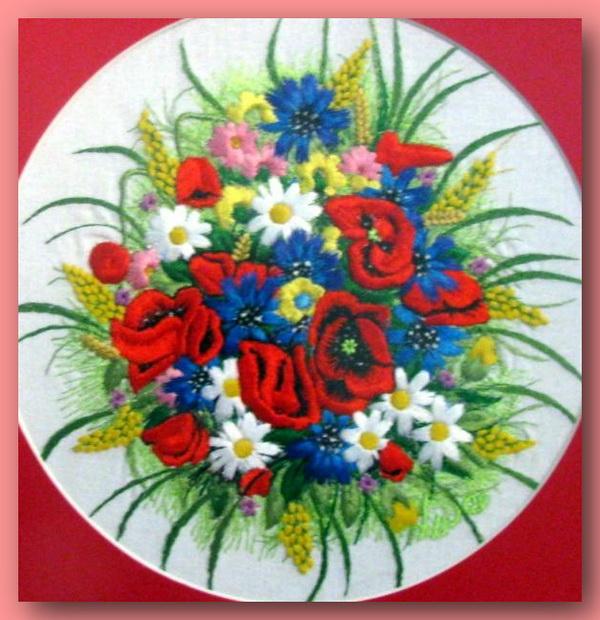 66913967 489208 El Emeği Çiçek Nakışları En Güzel Nakış Modelleri