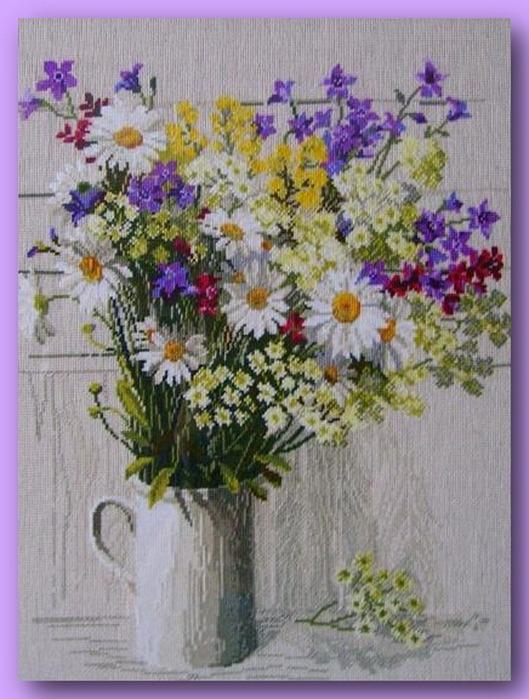 66913998 504732 El Emeği Çiçek Nakışları En Güzel Nakış Modelleri