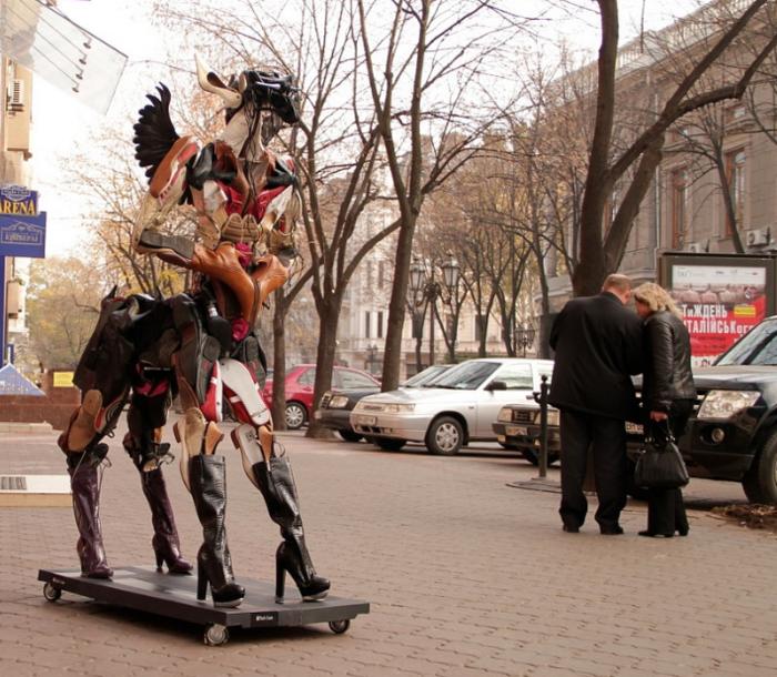 Александр Милов создал очередное своё творение