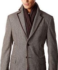 Способы завязывания шарфа–мужской стиль