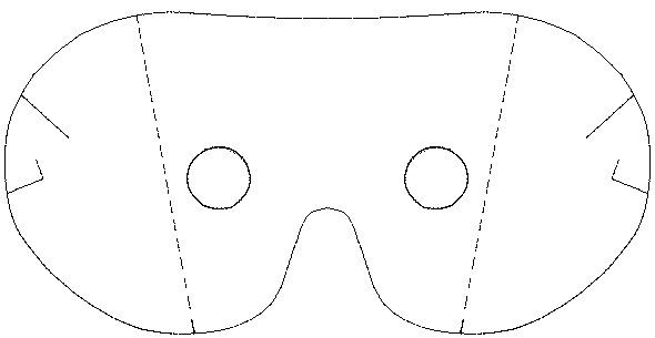 основу и маску Чебурашки.