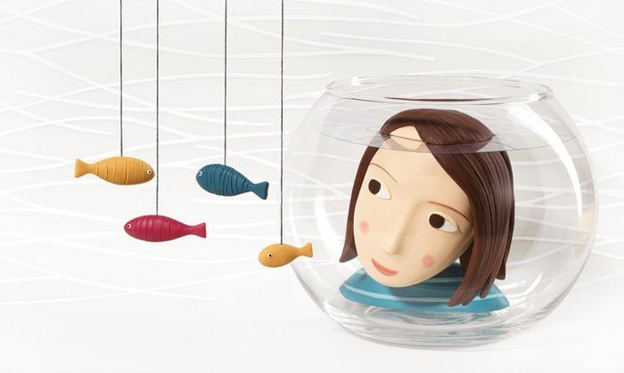 Пластилиновые иллюстрации Ирмы Груенхольз (Irma Gruenholz) 36