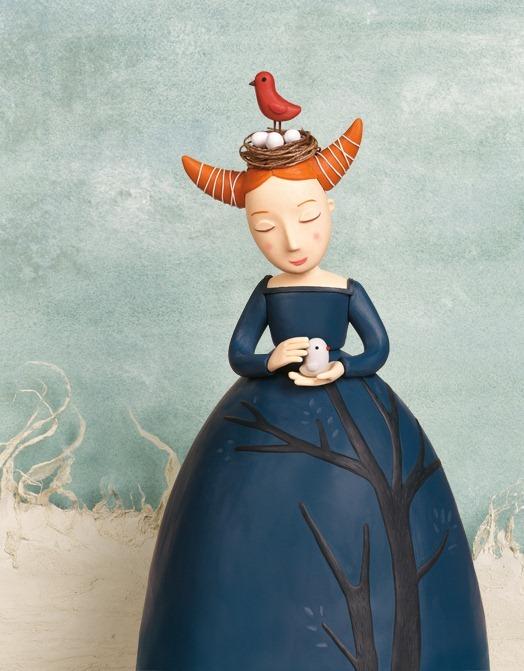 Пластилиновые иллюстрации Ирмы Груенхольз (Irma Gruenholz) 38