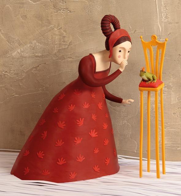 Пластилиновые иллюстрации Ирмы Груенхольз (Irma Gruenholz) 42