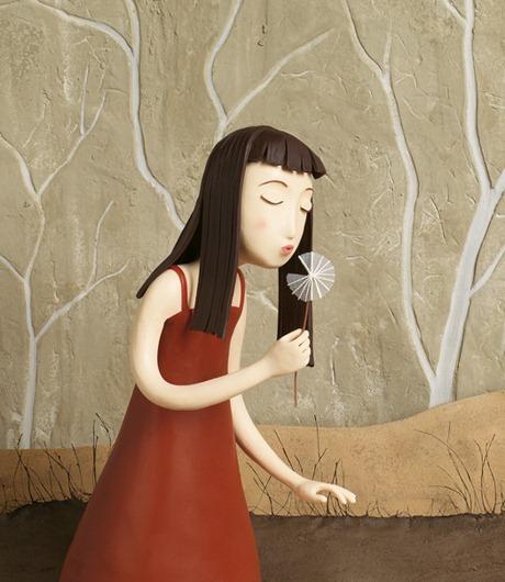 Пластилиновые иллюстрации Ирмы Груенхольз (Irma Gruenholz) 49
