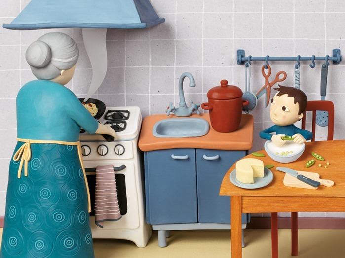 Пластилиновые иллюстрации Ирмы Груенхольз (Irma Gruenholz) 11