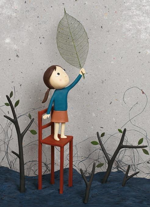 Пластилиновые иллюстрации Ирмы Груенхольз (Irma Gruenholz) 22