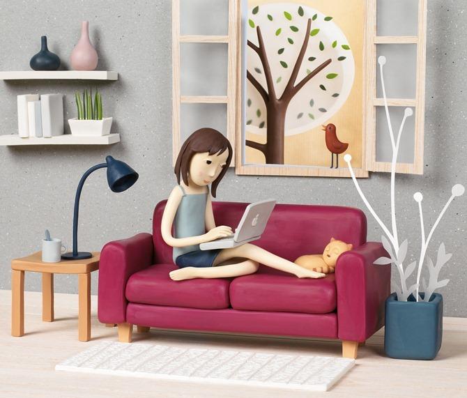Пластилиновые иллюстрации Ирмы Груенхольз (Irma Gruenholz) 26