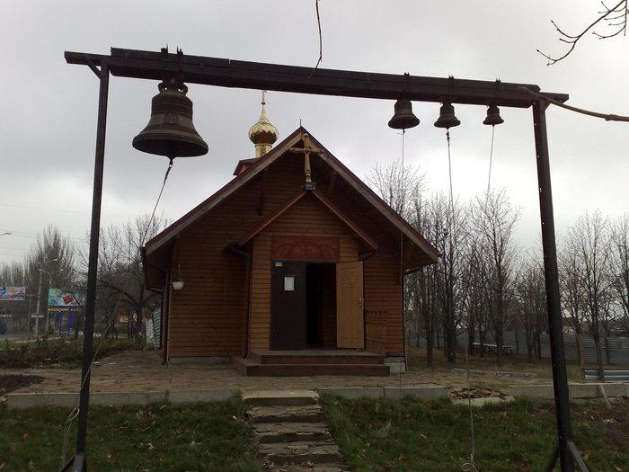 Общий вид грузинской церкви