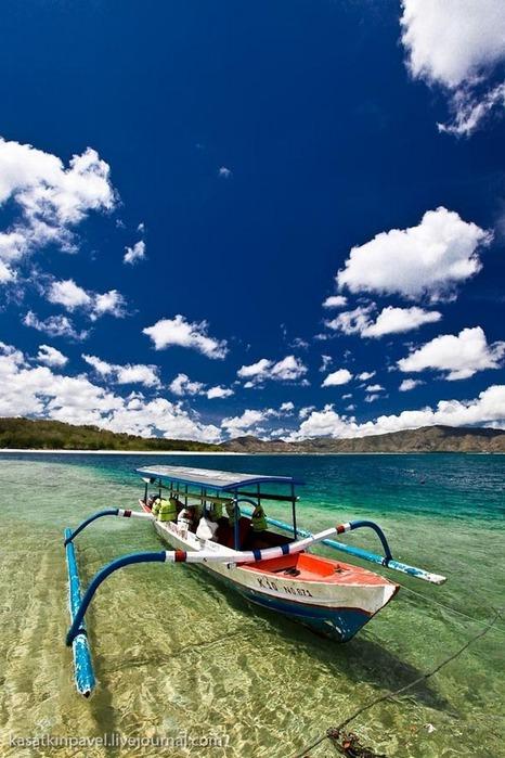 Райский остров Gili Nanggu 5