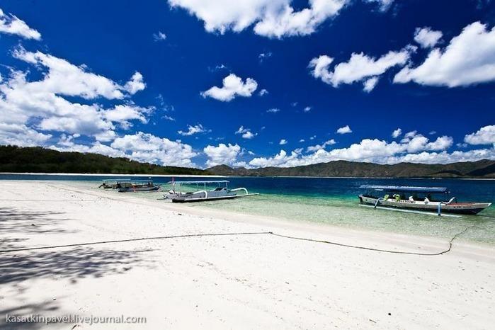 Райский остров Gili Nanggu 11