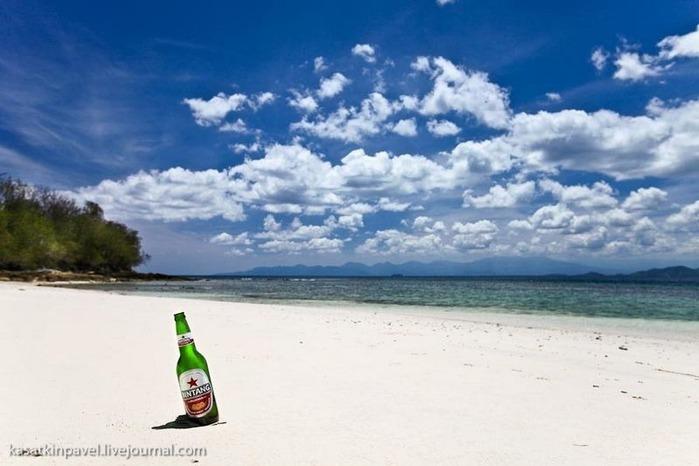 Райский остров Gili Nanggu 14