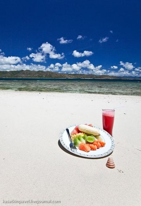 Райский остров Gili Nanggu 16