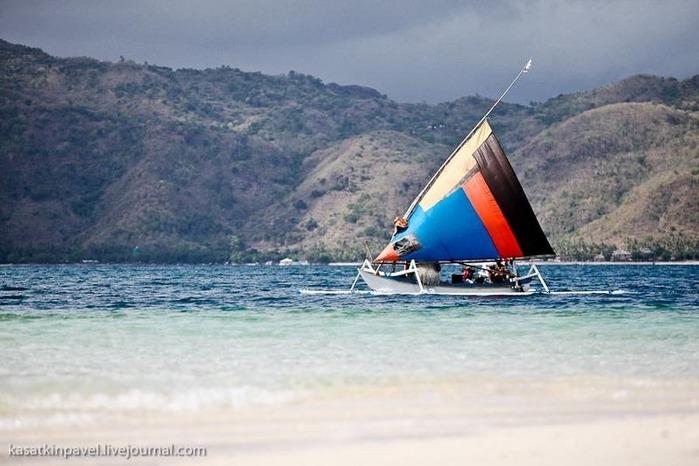 Райский остров Gili Nanggu 37