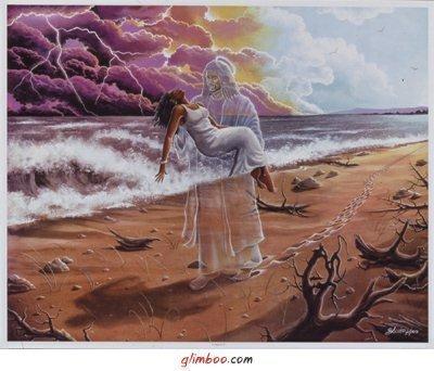 Бог несёт тебя на руках (400x342, 34 Kb)