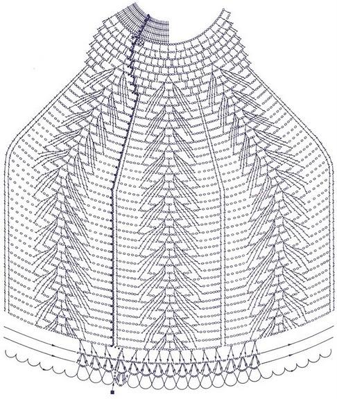 Схема абажура:
